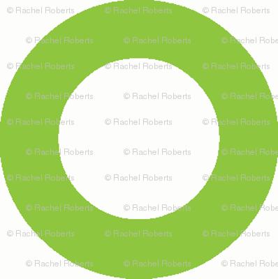 green mod circle dot - green dot