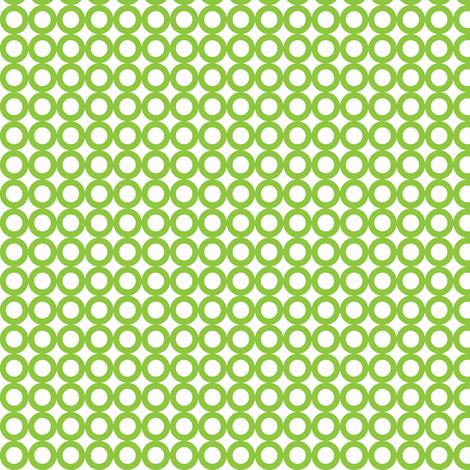 green mod circle dot - green dot fabric by modfox on Spoonflower - custom fabric