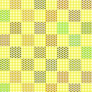 Dotty Gridded Checkerboard Ditty