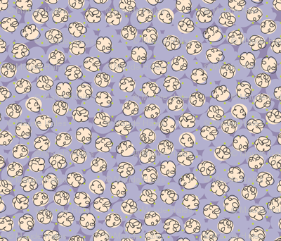 Popcorn-purple