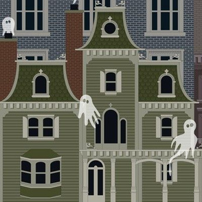 Julie's Ghostly Town