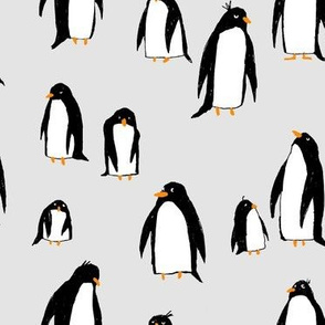 A Plethora of Penguins Gray (large)