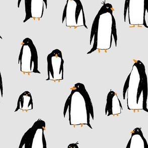A Plethora of Penguins Gray (large)