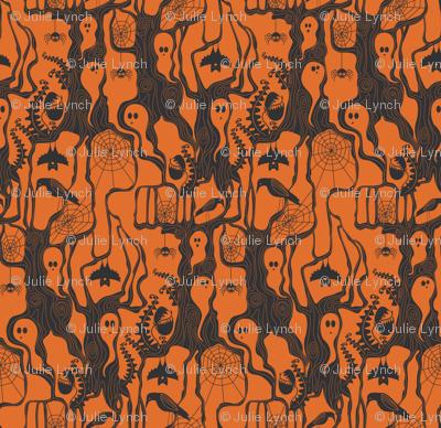 Garden of ghostly delights orange