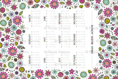 2014 Floral Dreams Calendar