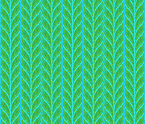 seaweed sunshine fabric by keweenawchris on Spoonflower - custom fabric