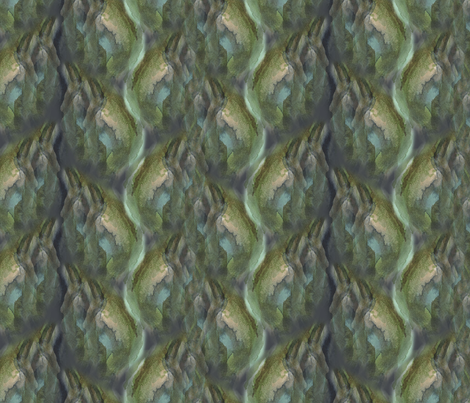 Autumnal Fjords 12x9 fabric by chrisitane on Spoonflower - custom fabric
