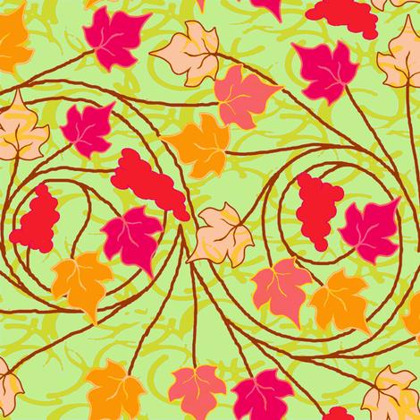verdant vineyard  fabric by keweenawchris on Spoonflower - custom fabric