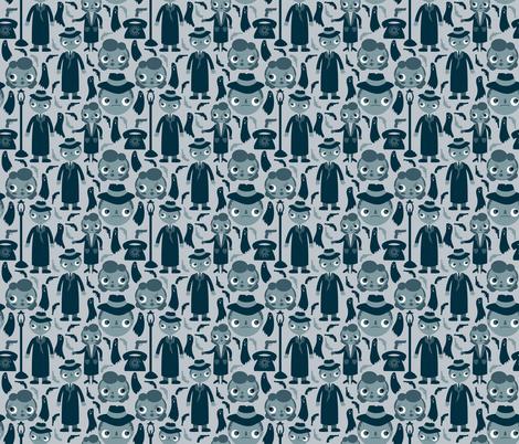 Film Noir fabric by heidikenney on Spoonflower - custom fabric