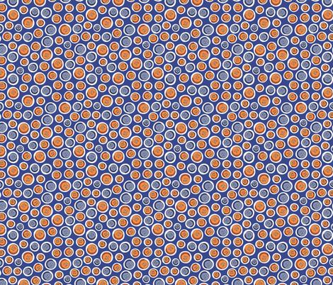 Knöpfe blau fabric by hamburgerliebe on Spoonflower - custom fabric