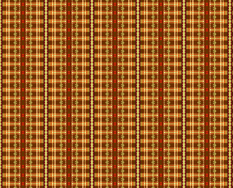 Brown and Beige Stripe fabric by robin_rice on Spoonflower - custom fabric