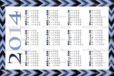 Lakeside-Blues-Tea-Towel-2014