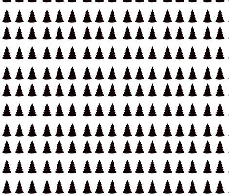 pine_trees_spread_out fabric by kristenbarstad on Spoonflower - custom fabric