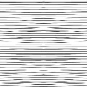 black on white horizontal stripes
