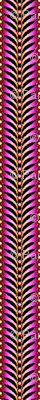 featherstripe magenta orchid