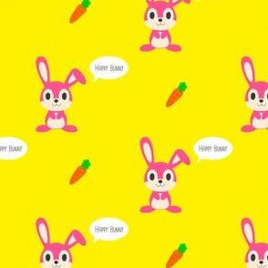 Happy Cute Bunny