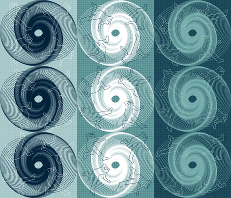 Vertigo fabric by zaffra on Spoonflower - custom fabric