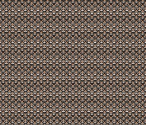 "Chainmaille - (1"") Medium Skin Tone fabric by jelliclestudio on Spoonflower - custom fabric"