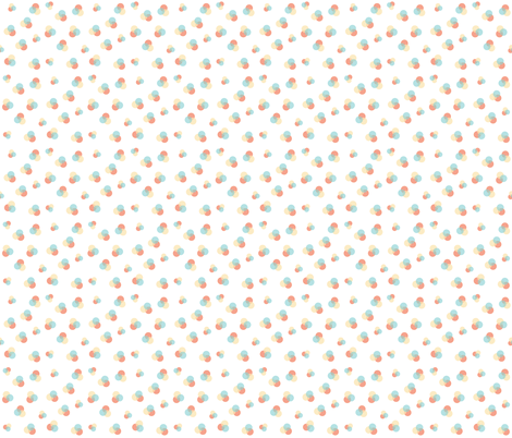 overlapping-dots fabric by craftinessisnotoptional on Spoonflower - custom fabric