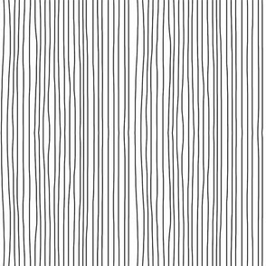 black on white vertical stripes