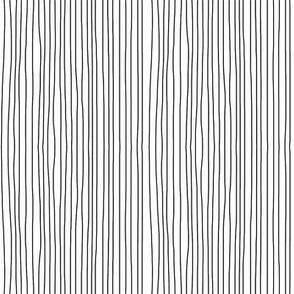 black on white vertical stripes
