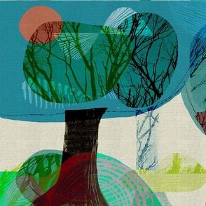 Trees modern pop