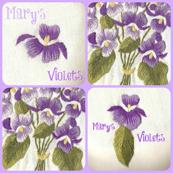 Grandma Mary' s Violets