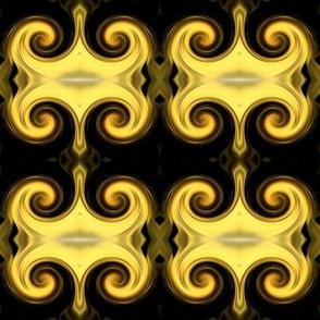 Light Gold Rococo