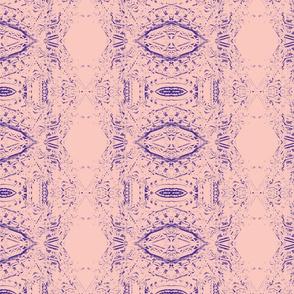 Gargoyles in pink