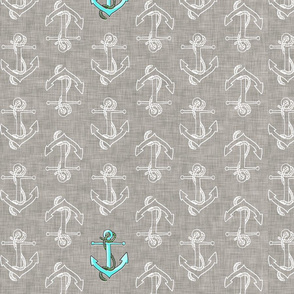 Anchors Away ***REGULAR VERSION*** grey