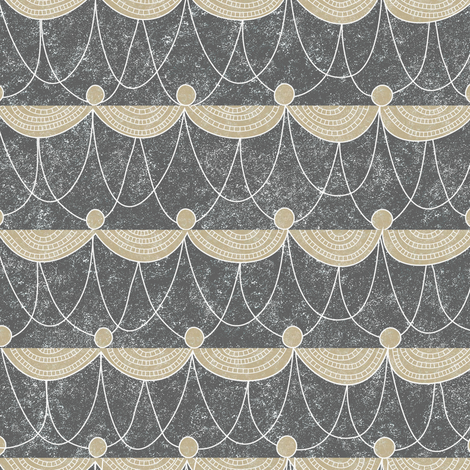 Swag fabric by vo_aka_virginiao on Spoonflower - custom fabric
