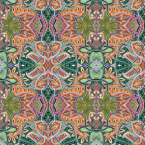 Autumn Comes to the Forest fabric by edsel2084 on Spoonflower - custom fabric