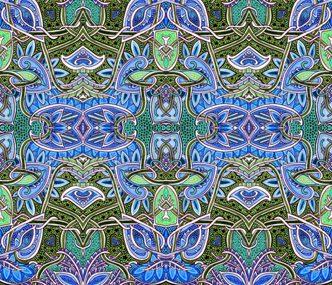 Life on the Great Reef fabric by edsel2084 on Spoonflower - custom fabric