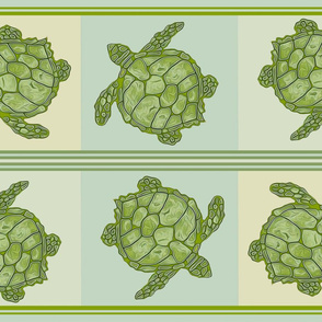 Sea Turtle Kitchen Towel Design