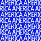 Graffiti Scribbles America Blue 2