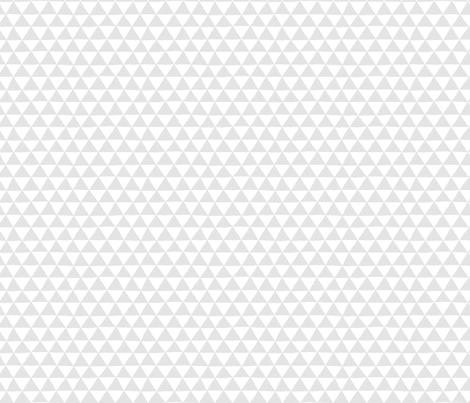 Triangle Geo (lt gray) fabric by leanne on Spoonflower - custom fabric