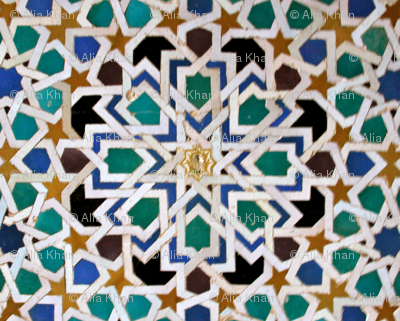 Moorish tile
