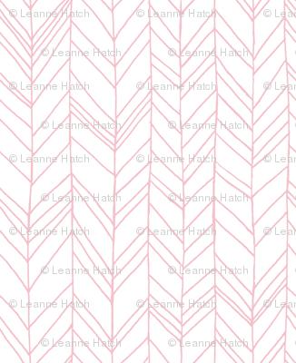 Featherland White/Pink