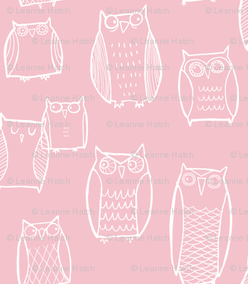 Night Owl (pink)