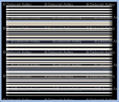 Stripes Framed in Blue