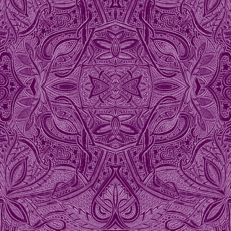 Very Big and Purple fabric by edsel2084 on Spoonflower - custom fabric