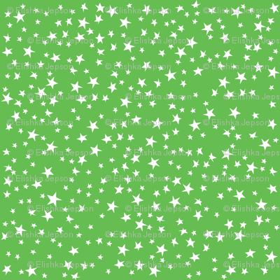 Scattered Stars (Green)