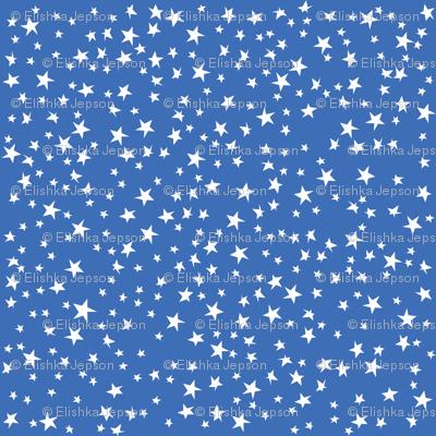 Scattered Stars (Blue)