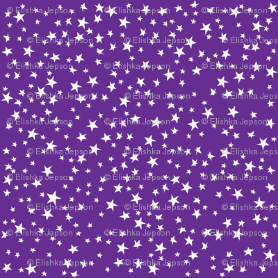 Scattered Stars (Purple)