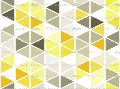 grey and gold caleidoscope