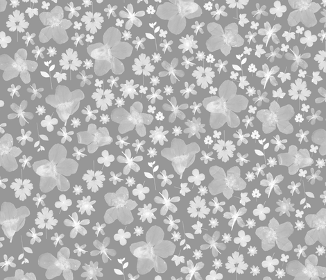Flora Storm fabric by beththompsonart on Spoonflower - custom fabric