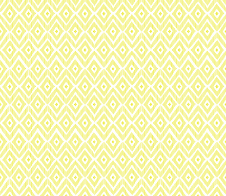 Ikat Lime fabric by fat_bird_designs on Spoonflower - custom fabric