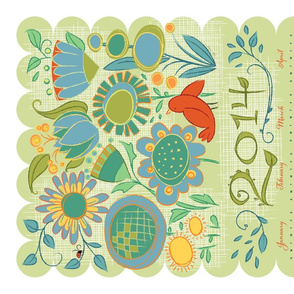 2014 Garden Friends Calendars_2PairsMixColor