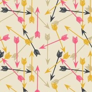 arrows scattered // southwest tribal native arrows design