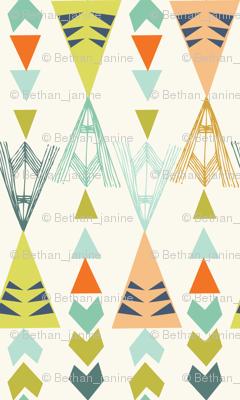 triangles - big - new colours